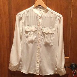 Gap size XS off white blouse